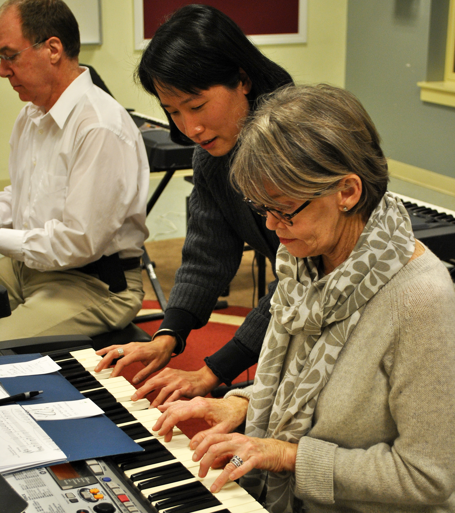 New england conservatory adult piano class