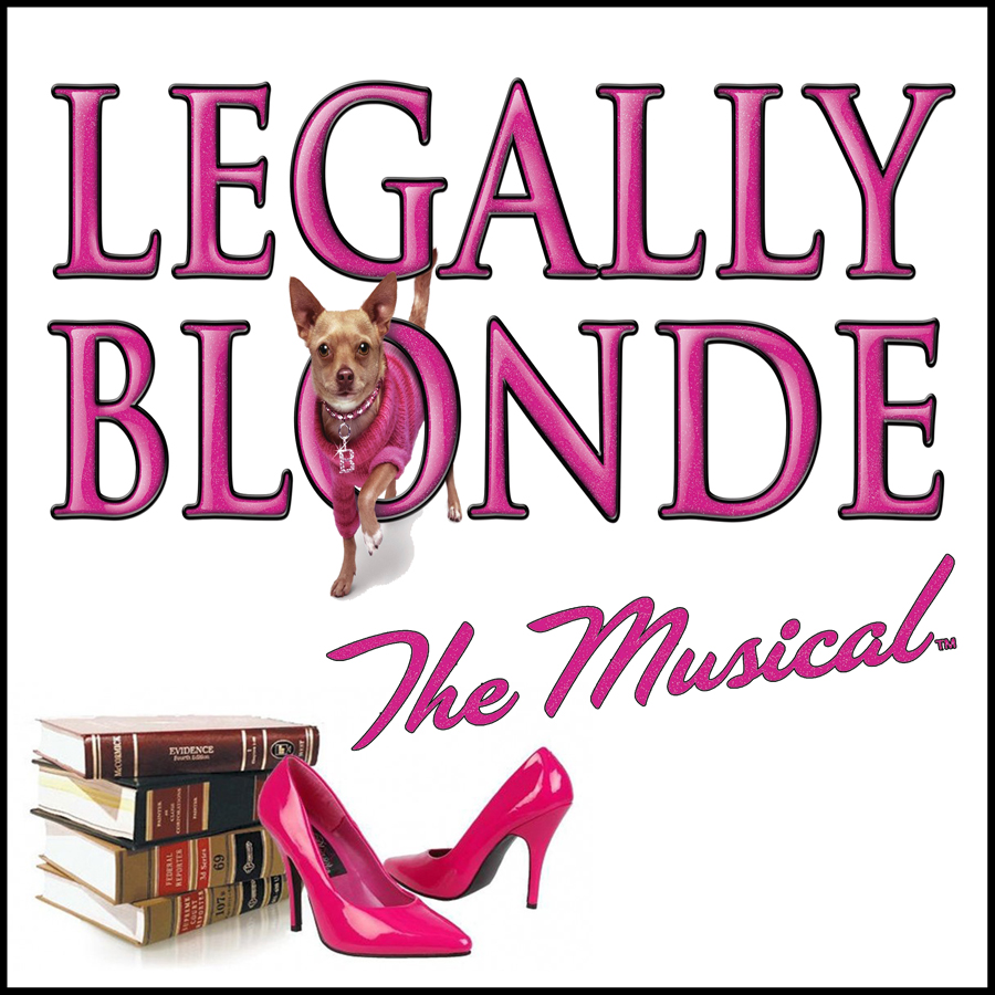Legally Blonde The Musical Logo The Company Theatre Pr...