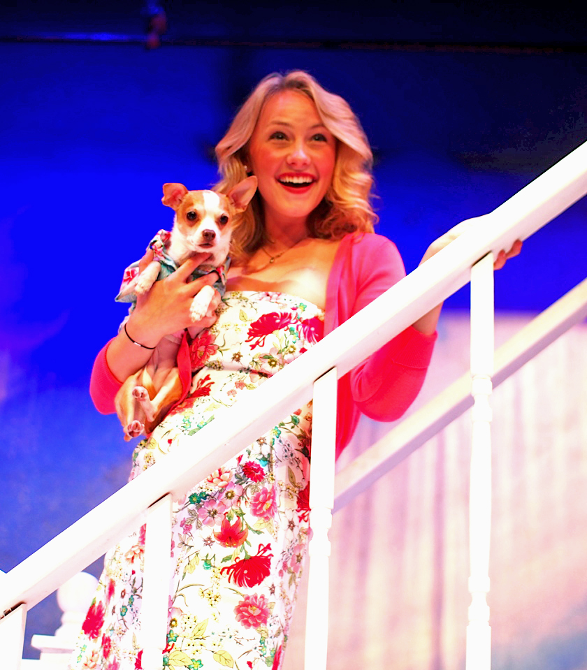theatre mirror review legally blonde michelle mcgrath pr legally blonde sarah kelly as elle