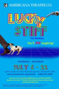 Lucky Stiff the Musical Comedy