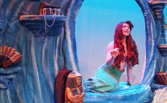 Sarah Kelly as Ariel in The Little Mermaid