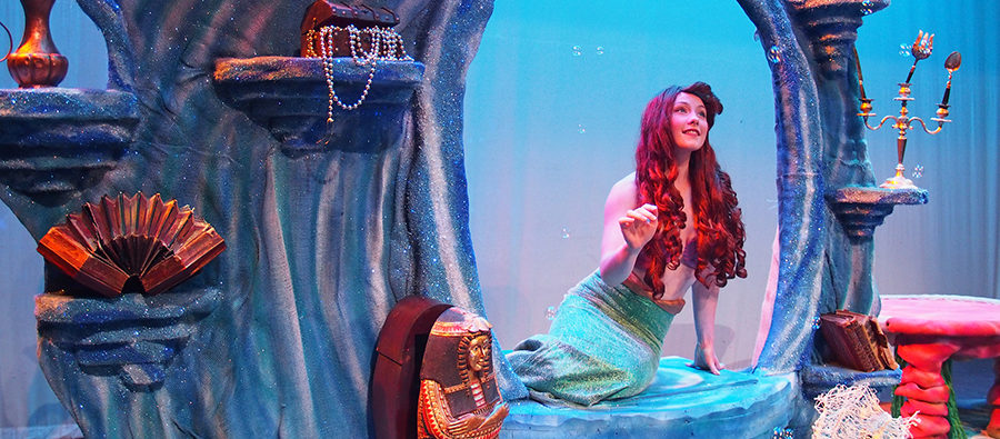 Sarah Kelly as Ariel in The Little Mermaid