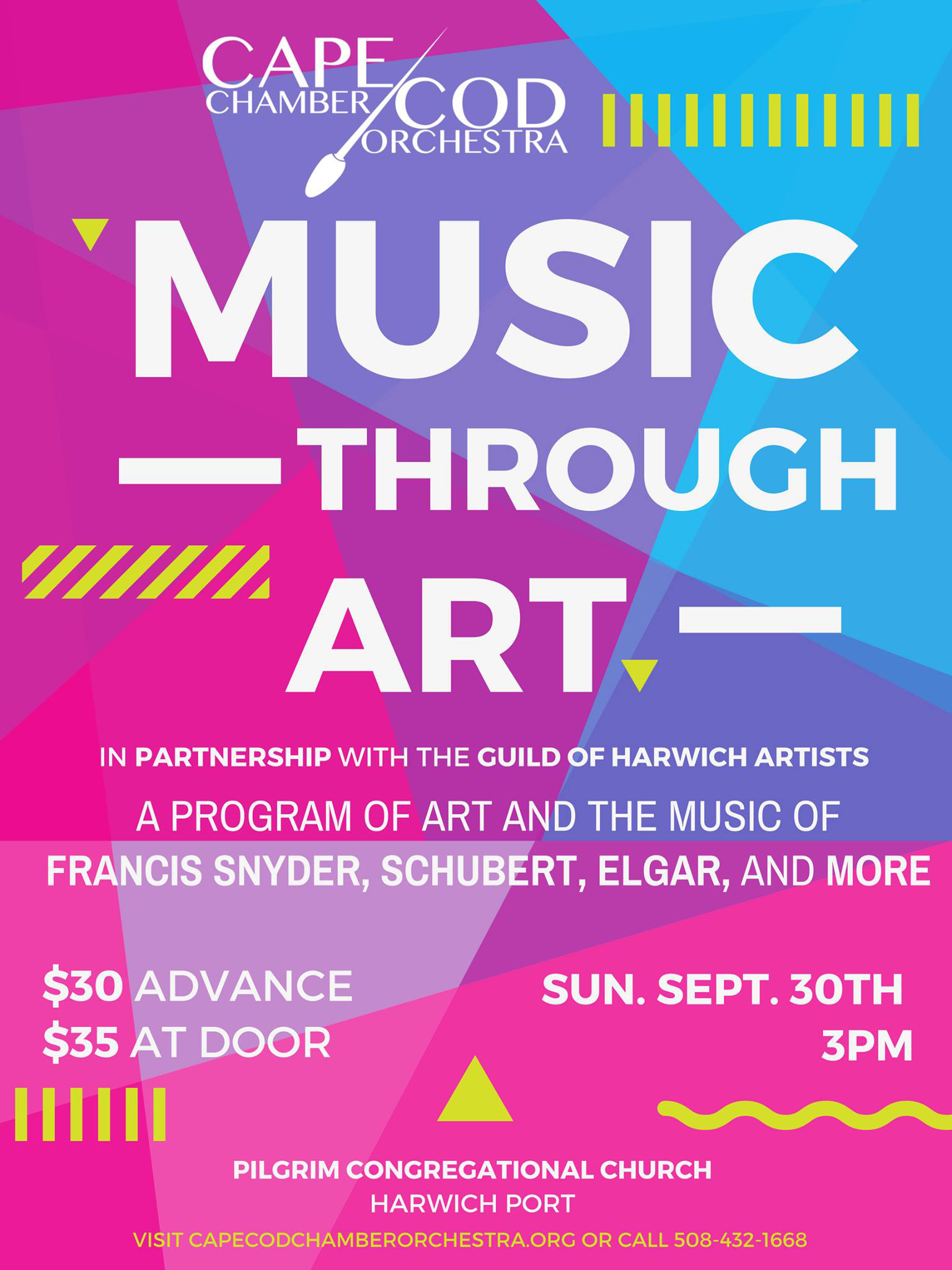 Music Through Art Poster