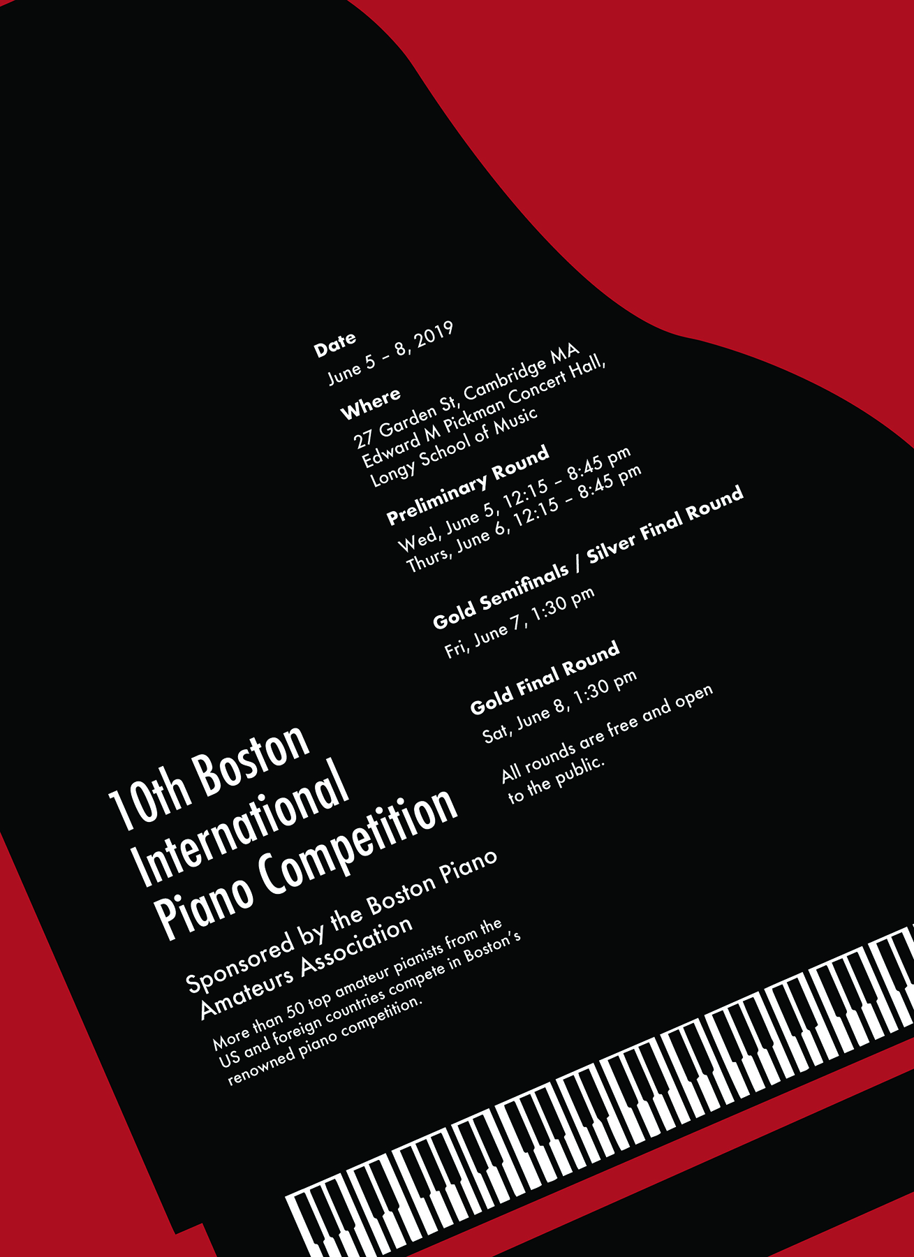 10th Boston International Piano Competition – McGrath PR